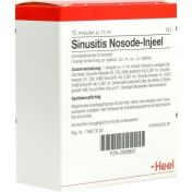 SINUSITIS NOS INJ