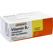 Vitamin B1 ratiopharm 200mg Tabletten