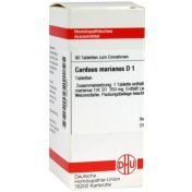 CARDUUS MAR D 1 Tabletten