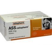ASS-ratiopharm 500mg Tabletten