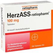 HerzASS ratiopharm 100mg Tabletten