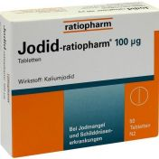 Jodid-ratiopharm 100ug Tabletten