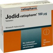 Jodid-ratiopharm 100 ug Tabletten