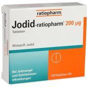 Jodid-ratiopharm 200µg Tabletten