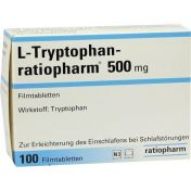 L-Tryptophan-ratiopharm 500mg Tabletten