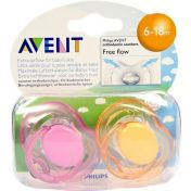 AVENT Schnuller Freeflow Jun 6-18 Monate BPA-frei