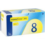 Novofine 8 0.30x8mm TW Kanülen