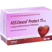 ASS Dexcel Protect 75mg magensaftresistente Tabletten